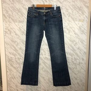 7 For All Mankind Bootcut Jeans Blue Size 28